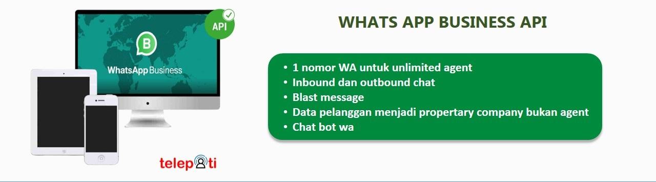 Whats app bisnis API