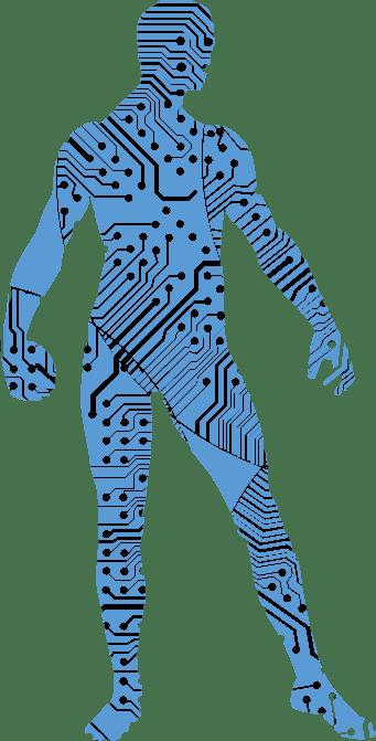 Siluet Robot call1