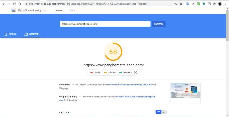 google speed awal 1